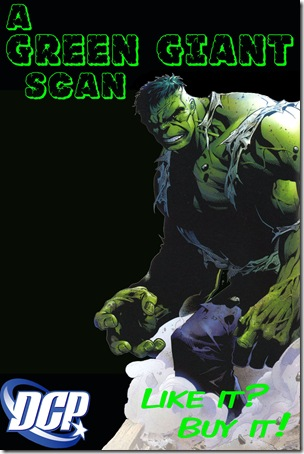 Green Giant Scan