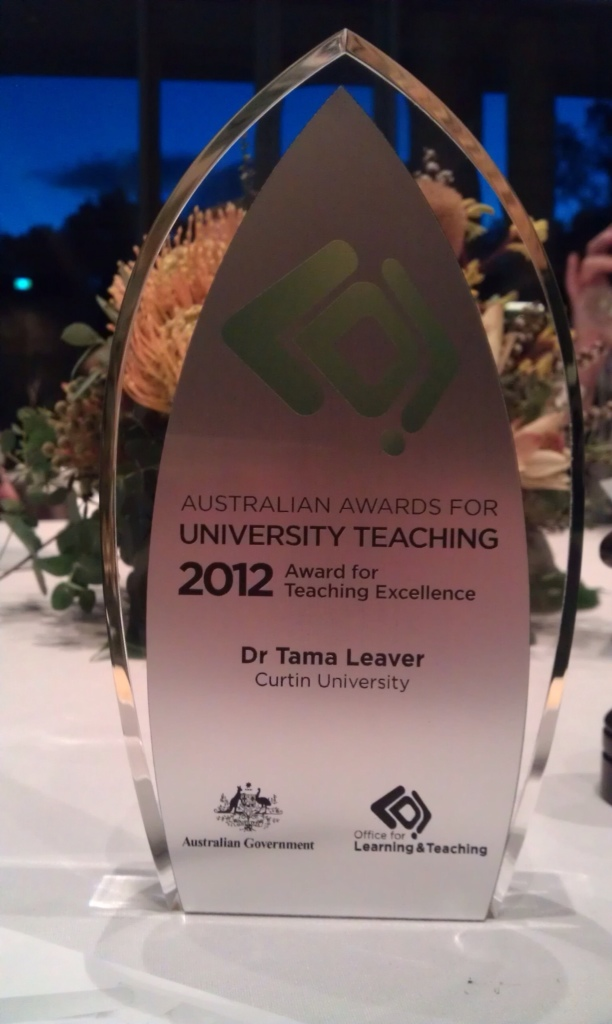 Australian Award for University Teaching