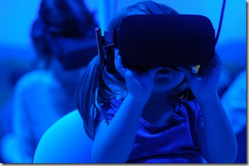 Child in VR Googles, Image by Giu Vicente
